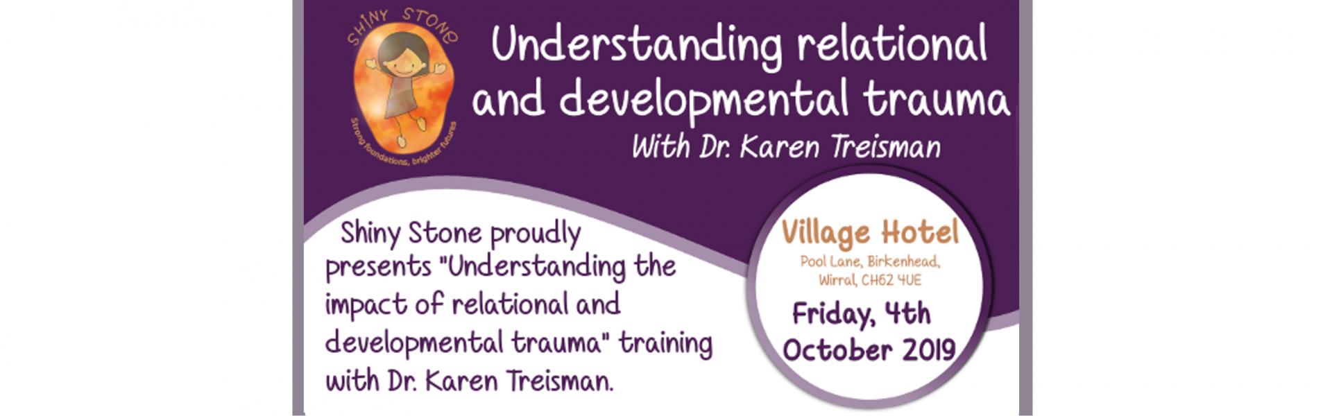 Understanding relational and developmental trauma training