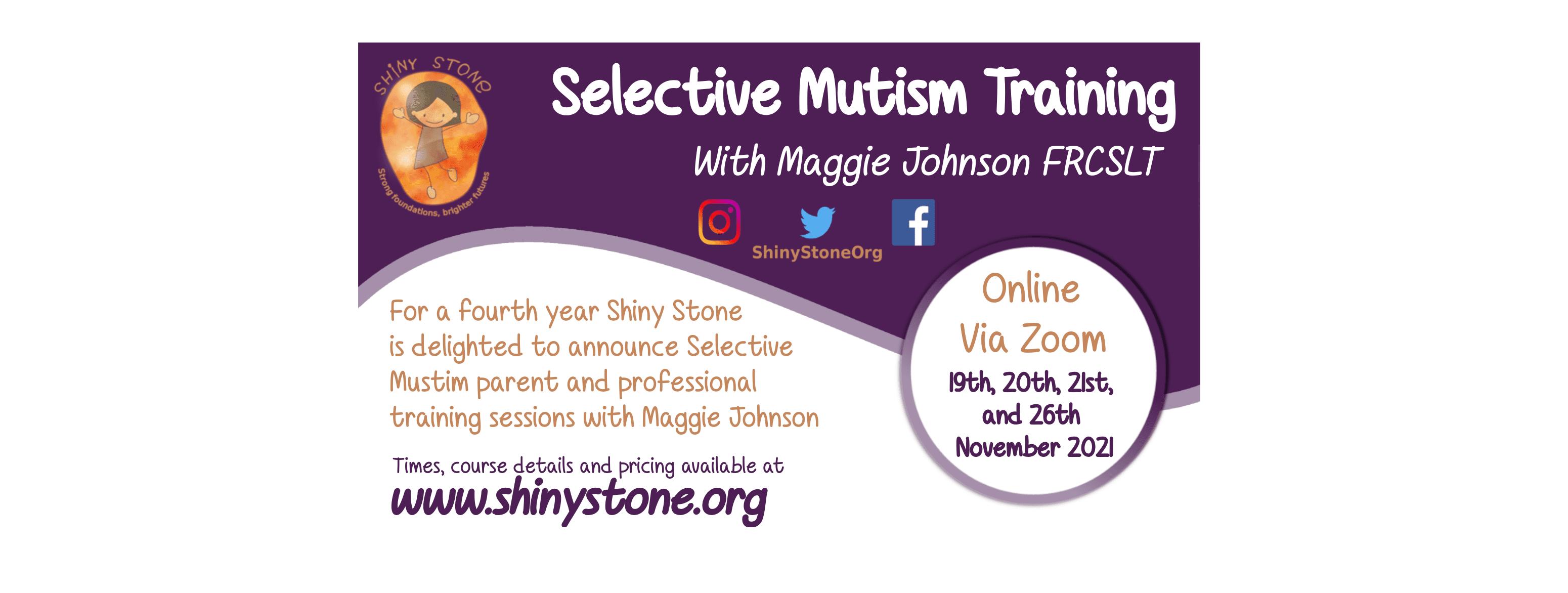 Selective Mutism Training 2021
